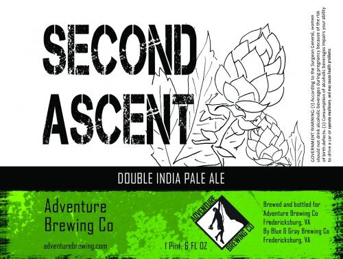 Second Ascent Label