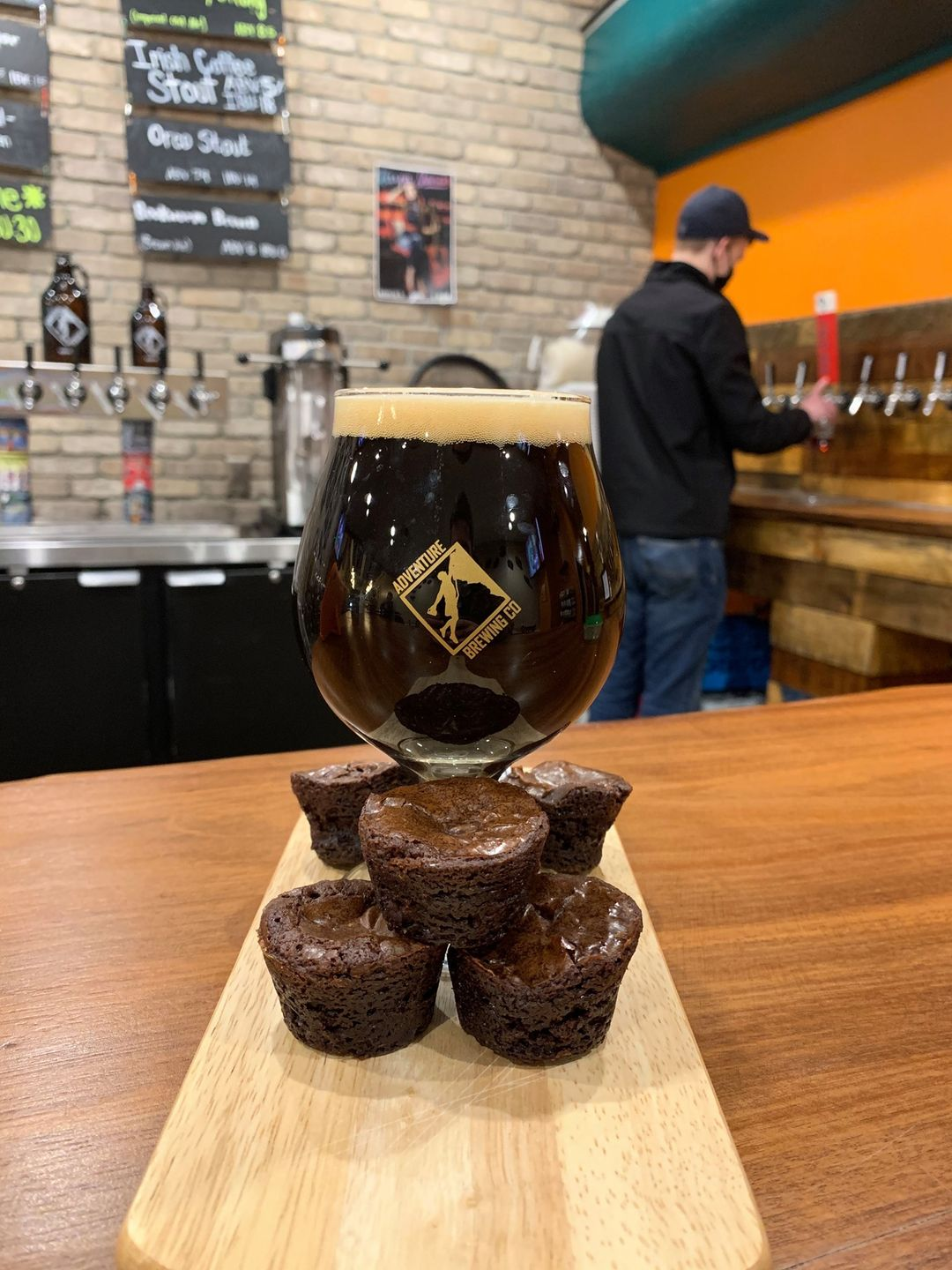 Stephen and Brownie Stout